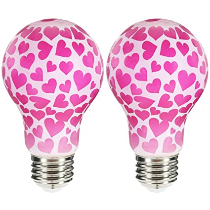 Valentine S Day Hearts Led By Huevee Decorative Light Bulb 40 60