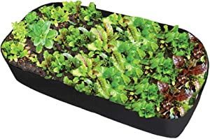 Fabric Raised Garden Bed, 400gsm Thicker Planting Bed Rectangle Garden Grow Bags Planter for Plants Flowers and Vegetables (2ft x 4ft)