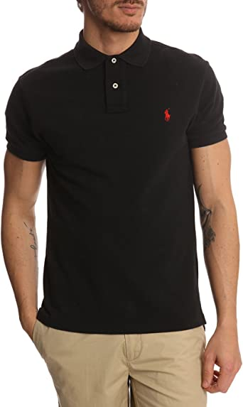 Polo Ralph Lauren Classic Fit - Polo de Malla: Amazon.es: Ropa y ...