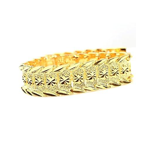 7 opinioni per Pixnor da polso catena 24K Gold Plated bracciali nuovo braccialetto di disegno