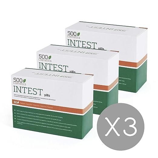 Amazon.com: 500Cosmetics Intest - Natural Capsules to Prevent ...