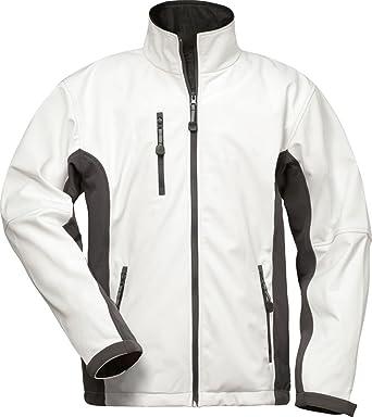 fb2745e277085a CRAFTLAND Softshell-Jacke - 19990 - weiß/grau - Größe: 4XL: Amazon ...