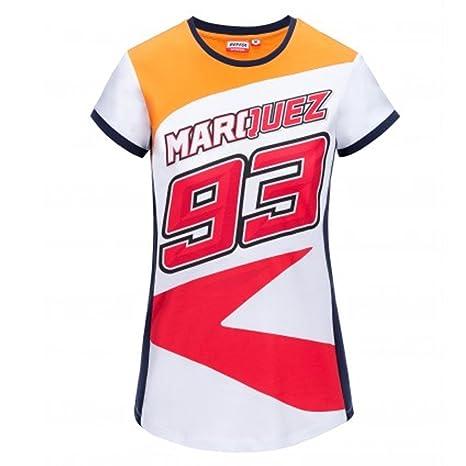 HONDA Repsol Marc Marquez 93 Moto GP Donne Maglietta Ufficiale 2018 ... eb75861795e3