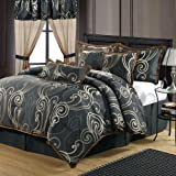 Chic Home Tivoli 13-Piece Comforter Set, Queen, Blue