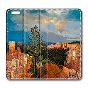 Brain114 6 Plus, iPhone 6 Plus Case, iPhone 6 Plus 5.5 Case, Bryce Canyon PU Leather Flip Protective Skin Case for Apple iPhone 6 Plus 5.5