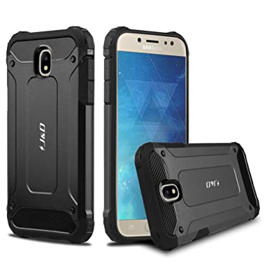 buy online 2e851 ef984 J&D Galaxy J5 2017 Case, [ArmorBox] [Dual Layer] Hybrid Shock Proof  Protective Rugged Case for Samsung Galaxy J5 (Release in 2017) (Black)
