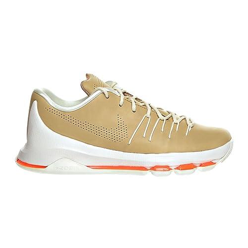 42d802f6cae4 Nike KD 8 EXT Men s Shoe Vachetta Tan Sail Total Orange 806393-200 ...