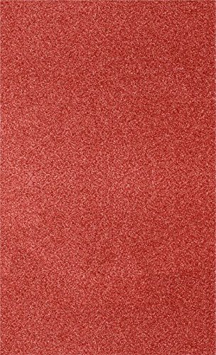 8 1/2 x 14 Cardstock - Holiday Red Sparkle (1000 Qty.) | Perfect for the Holidays, Crafting, Invitations, Scrapbooking and so much more! |81214-C-MS08-1M by Envelopes.com