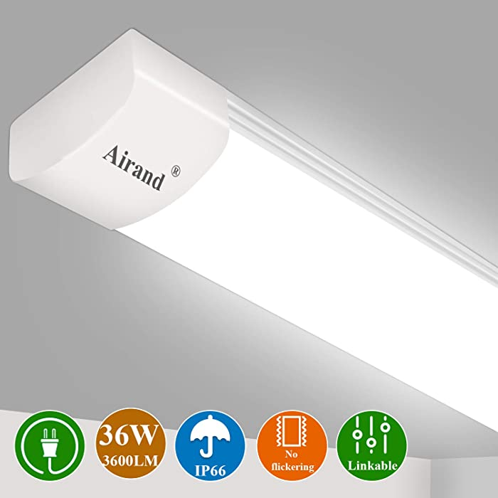 Top 10 Plug In Led Light Fixture 4Ft Office