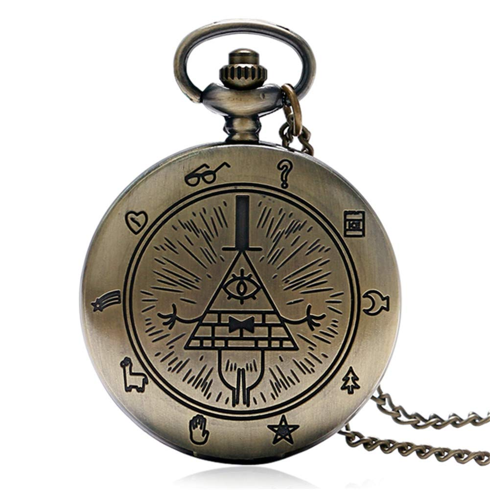 Amazon.com: Bill Cipher Pocket Watch, Cute Pocket Watches for Boys Girls, Gifts Watches for Kids…: Watches