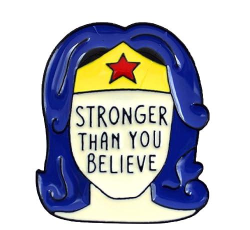 Amazon.com: FTH Wonder Woman Stronger Than You Believe ...