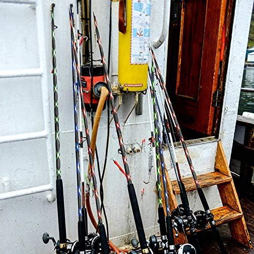 TOBWOLF Lot de 4 Manchons pour Canne à pêche à la Mouche