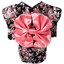 Elisona-Cute Japanese Kimono Style Apparel Costume Pet Clothes for Dog Puppy Cat Skirt Dress Clothing Black Size XS