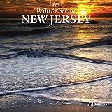 "Goldistock ""New Jersey Wild & Scenic"" Eco-friendly 2018 Wall Calendar - 12"" x 26"" Open"