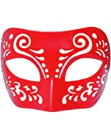 Dream Tale Red Venetian Masquerade Mask ~ Mardi Gras Prom Party (STC12942)