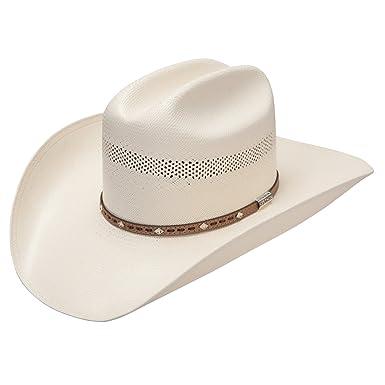 54f7b6c6f Stetson Hampton 10X Straw Hat at Amazon Men's Clothing store: