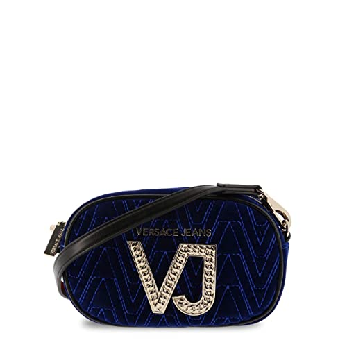 e3780aa6dd Versace Jeans Women Cross Body Bag Blue Genuine Designer Crossbody Bag RRP  £189.00  Amazon.co.uk  Shoes   Bags