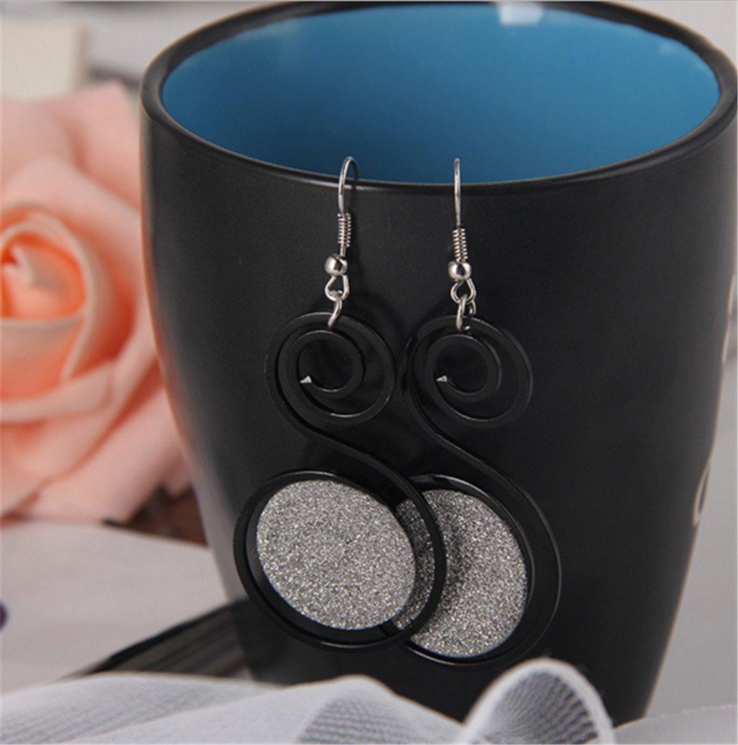 Fashion Earrings Long Creative Women Jewelry Earrings,Black