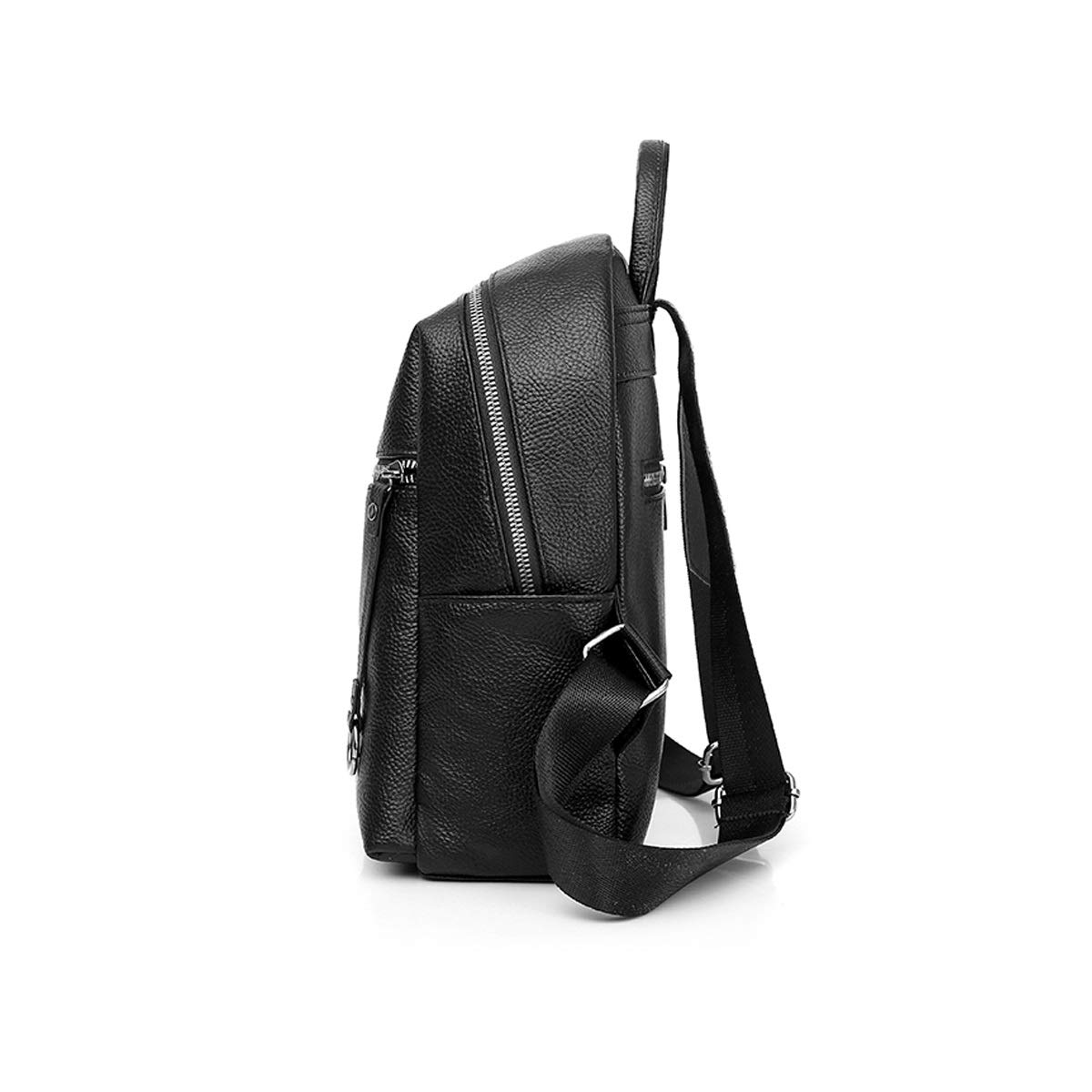 Black//Brown School Travel Outdoor Fashion and Leisure Haoyushangmao The Girls Versatile Backpack is Perfect for Everyday Travel Color : Brown, Size : 27cm32cm12cm Simple and Practical. Work