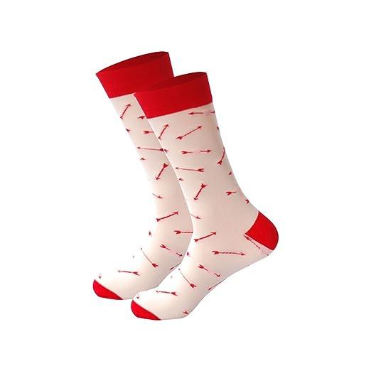 Mens Happy Socks 27Colors Striped Plaid Diamond Cherry Socks Men Combed Cotton Calcetines Largos Hombre,