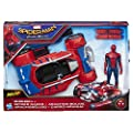 Spider-Man: Homecoming Spider-Man With Spider Racer by Hasbro