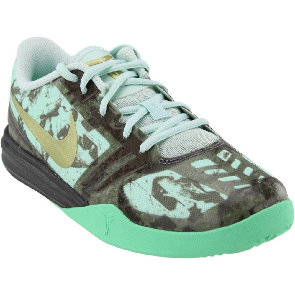 Nike Boys Kobe Mentality Basketball Shoes-Fiberglass/Metallic Gold-6