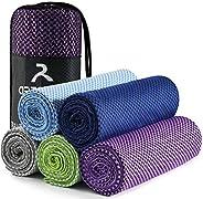 arteesol Microfiber Travel Towel, Yoga Towel 3 Size Quick Dry Towel Soft Lightweight & Anti-Bacterial Suit