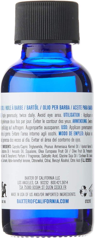 Baxter of California Beard Oil Christmas Bauble Gift Set