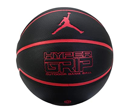 Nike 2016 Jordan Hyper Grip Outdoor Juego Balón Baloncesto Negro ...