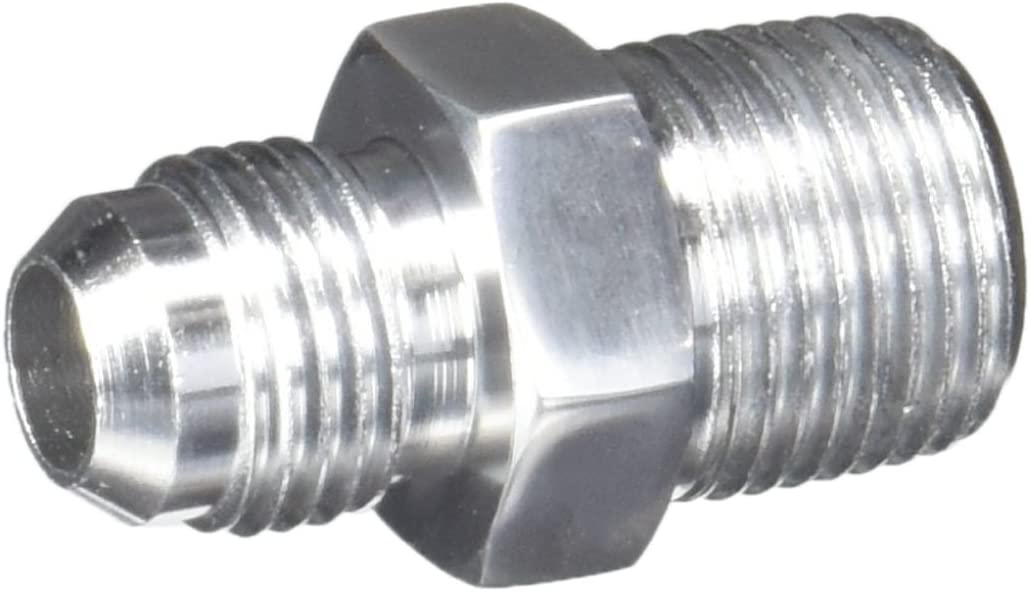 Polished Professional Products 6AN to 3//8NPT Straight Flare to Pipe Fitting 17240