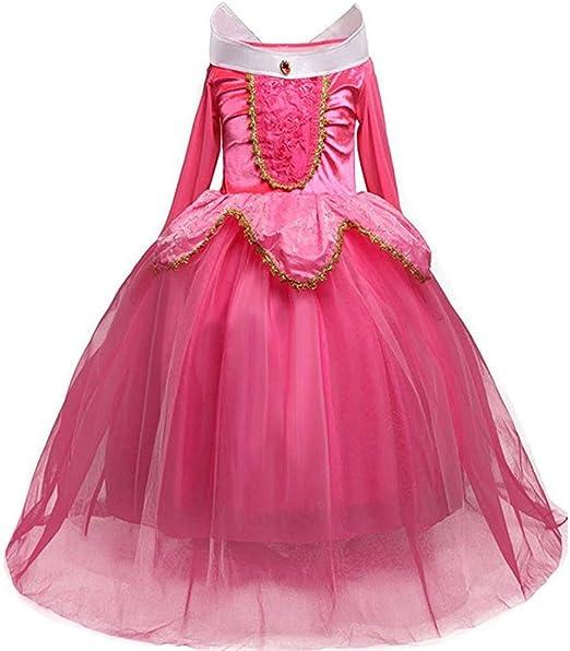 Afittel0 Vestido Princesa, Niña Princesa Bella Disfraces ...