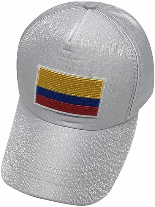 Wanson 2018 Copa del Mundo Colombia Copa Mundial De Fútbol Gorras FIFA Béisbol Gorra Equipo Nacional Fans Regalos,Blue: Amazon.es: Deportes y aire libre