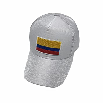 Wanson 2018 Copa del Mundo Colombia Copa Mundial De Fútbol Gorras FIFA Béisbol Gorra Equipo Nacional Fans Regalos,Gray: Amazon.es: Deportes y aire libre