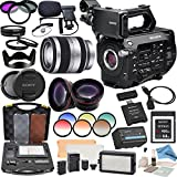 Sony PXWFS7 XDCAM Camera With Sony E-Mount 18-200mm Lens, Professional 162 LED Light Kit, Sony 64GB G Series XQD Format Version 2 Memory Card and more...