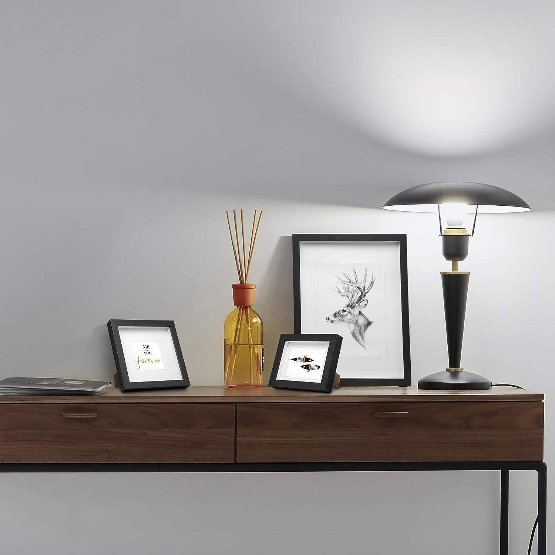 21x29.7cm Noir SPF0185-5 eSituro 5 X Cadre Photo 3D en MDF avec Verre,Cadre Photo Profond Cadre Photo pour Collectionner A4