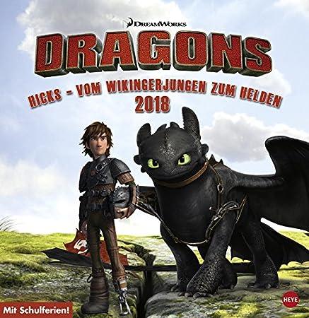 Drachen Zähmen Leicht Gemacht Dragons Posterkalender Kalender