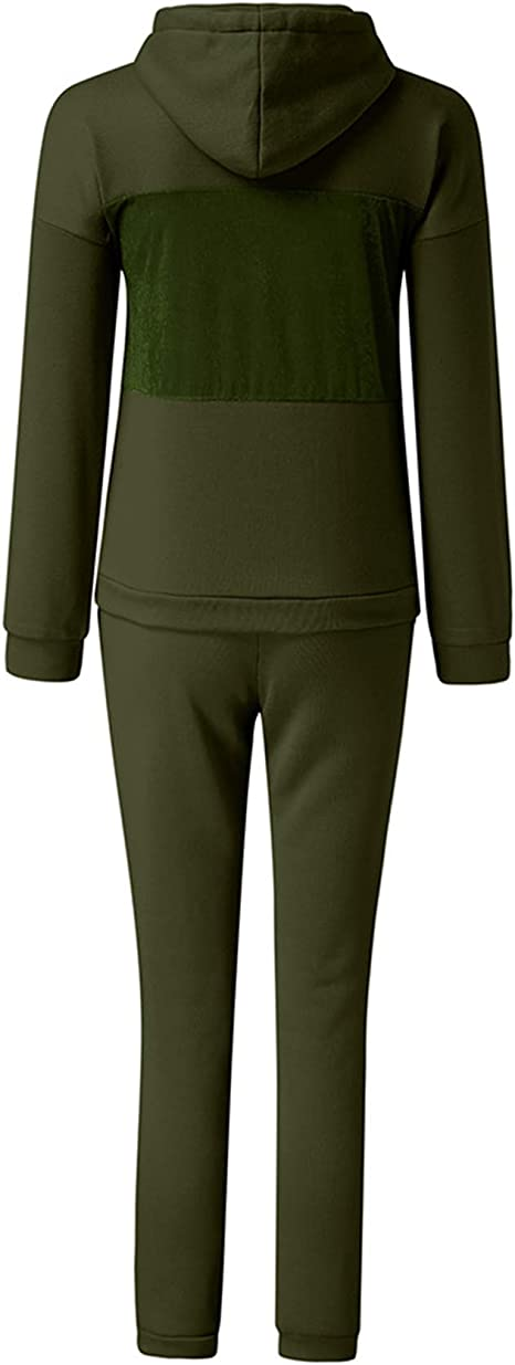 EINCcm 3 Piece Jogger Set Men Men Tracksuit Set Hoodie Jogger Jacket Pants Gym Active Wear Blouse
