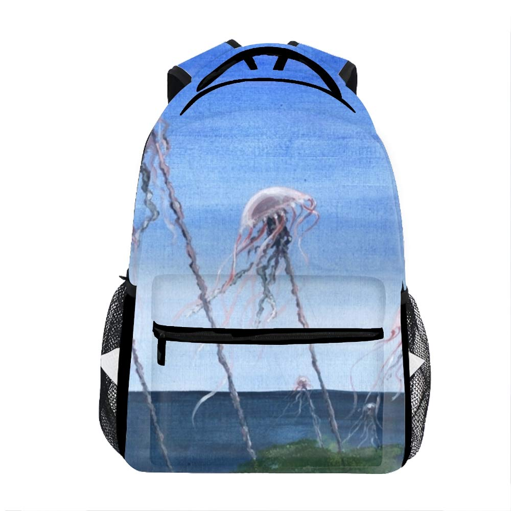 5882d8665900 Amazon.com | Fabulous Jellyfish Backpack for Kids Boys Girls School ...