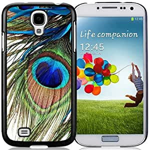 Beautiful And Unique Designed Case For Samsung Galaxy S4 I9500 i337 M919 i545 r970 l720 With Peacock Feather Phone Case