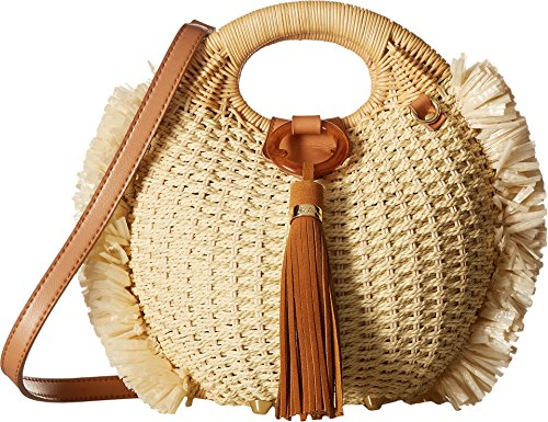 Sam Edelman Women's Pomona Straw Basket, Natural, One Size by Sam Edelman