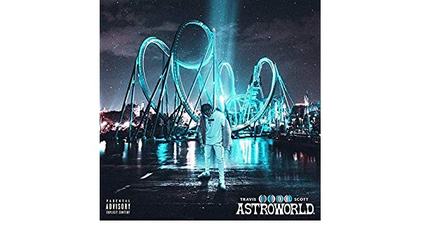 195f9f636815 Amazon.com: Big mart collection Album Cover Poster Travis Scott: ASTROWORLD  12x18 inch Rolled: Posters & Prints