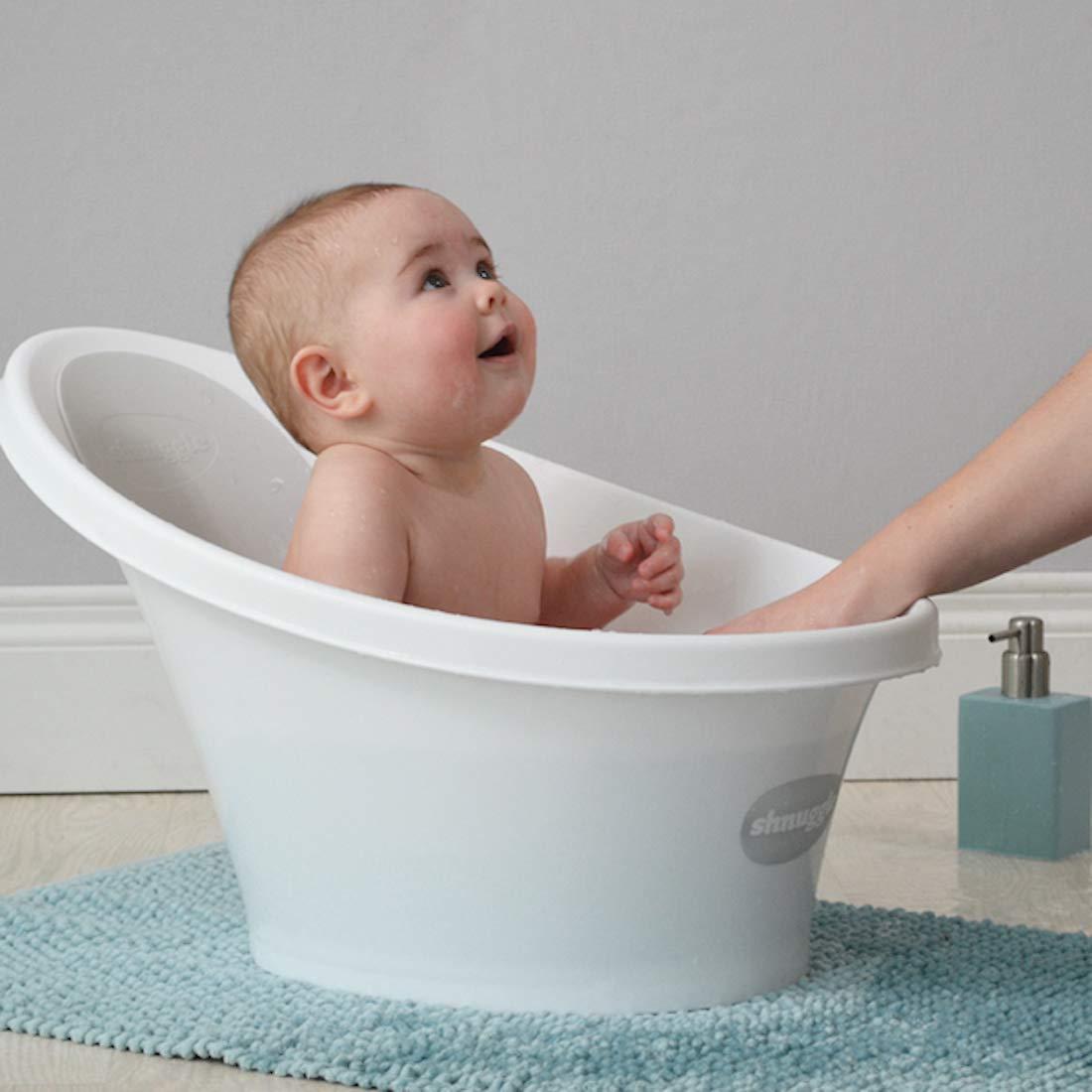 5. Shnuggle Baby Bathtub: Best Compact Support Seat for Newborns