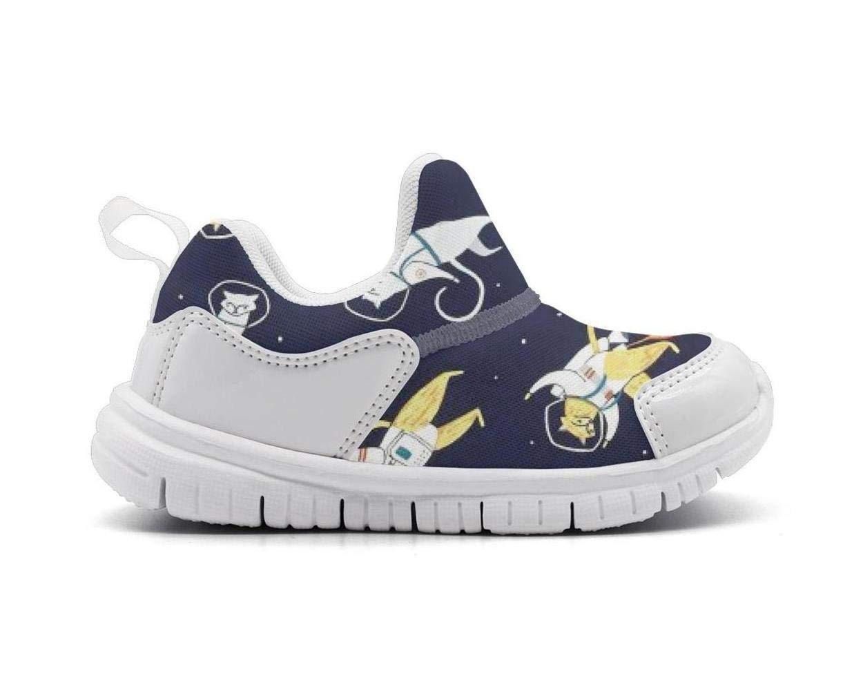 ONEYUAN Children Supernova Cats in Space Kid Casual Lightweight Sport Shoes Sneakers Running Shoes