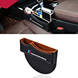 OYADM Seat Gap Filler, Console Organizer, Car Pocket, Seat Catcher, Seat Crevice Storage Box for BMW(Black)…