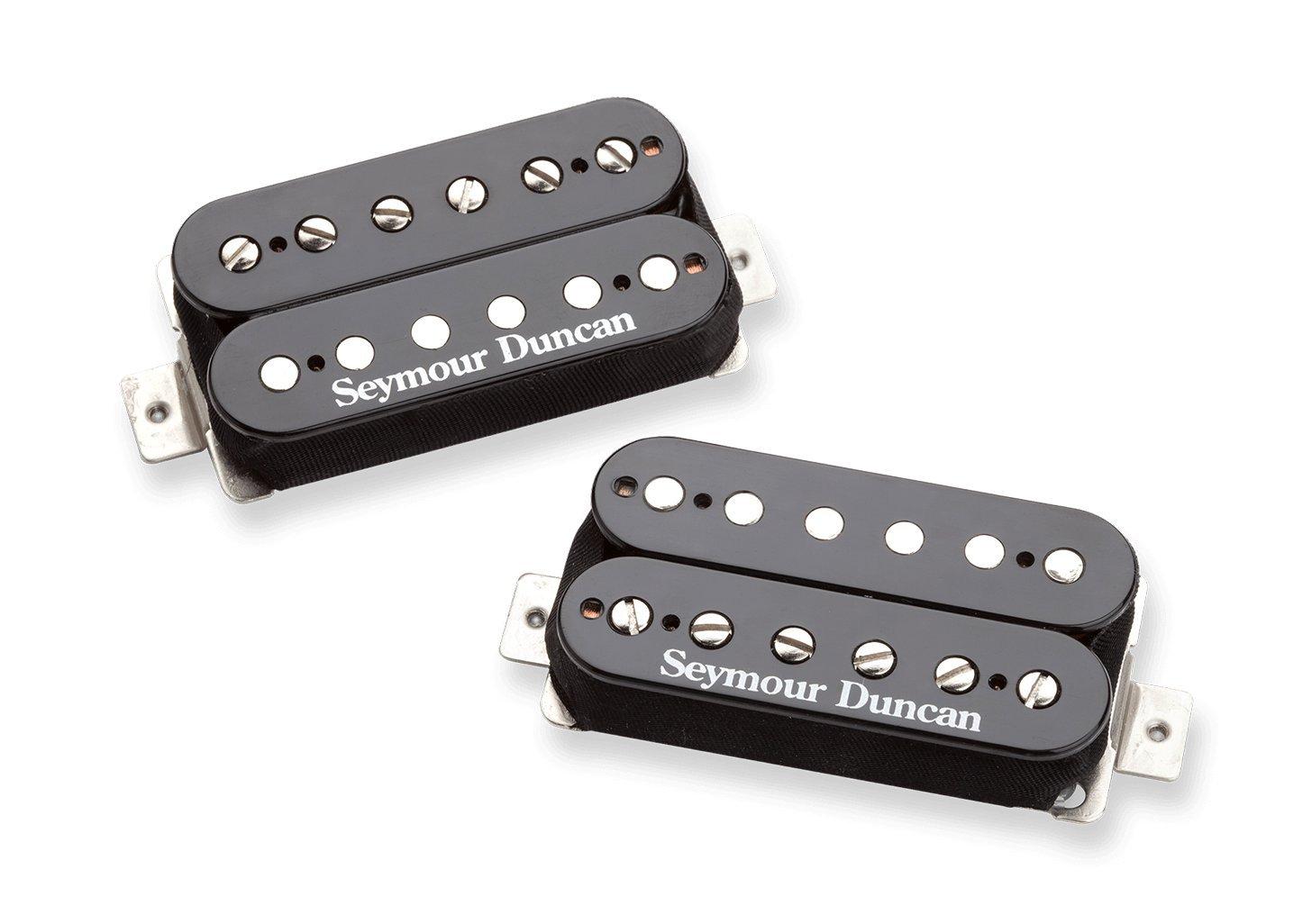 Seymour Duncan Hot Rodded Humbucker Matched Guitar Hondo Wiring Diagram Pickup Set With True Tune Tuner Dunlop Care Kit Fender Picks Sh 4b Musical Instruments