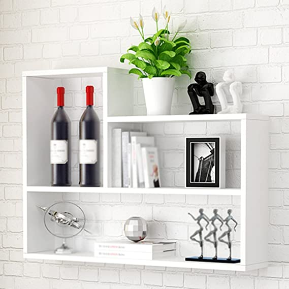 Shelf Units Estante de Pared para Colgar Muebles, mamparas de TV, Marco Decorativo para Sala de Estar, Dormitorio, Cocina: Amazon.es: Juguetes y juegos