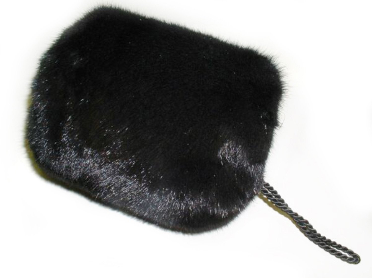 Top Mink Barrel Hand Muff in Black Color by FursNewYork (Image #1)