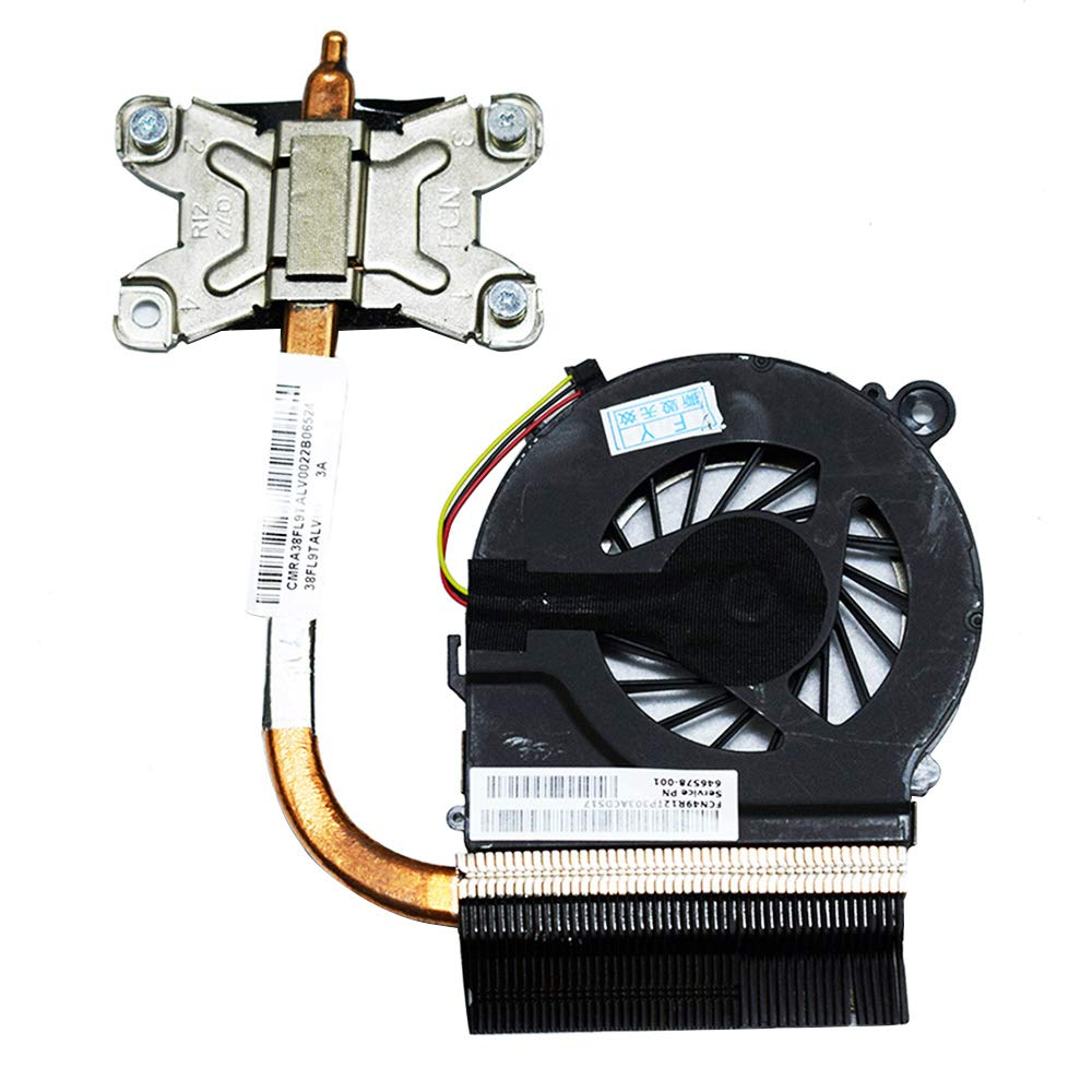 Replacement CPU Cooling Fan with Heatsink for HP Pavilion G4-1000 G4-1318DX G6-1000 G7-1000 Series 643258-001 657942-001 646578-001 4GR13HSTP80