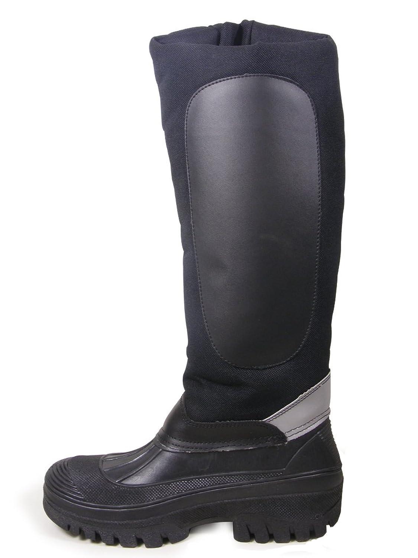 Hkm , Unisex - Erwachsene Gummistiefel , Schwarz - schwarz - Größe: 38.5 (5 UK)