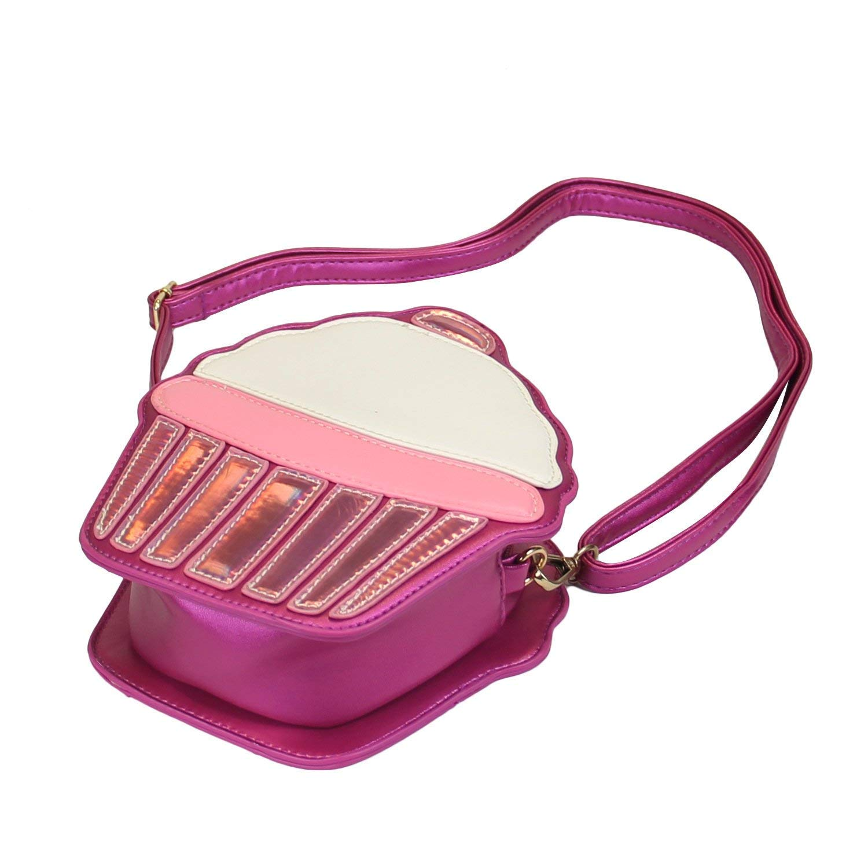 Cake Handbag Messenger Bag Phone Pocket Wallet.